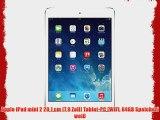 Apple iPad mini 2 201 cm (79 Zoll) Tablet-PC (WiFi 64GB Speicher) wei?