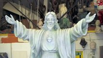 Polystyrene Styrofoam Carving of Jesus by Sculpture Studios