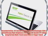 Acer Aspire Switch 10 SW5-011 257 cm (101 Zoll) Convertible Notebook (Intel Atom Z3745 13GHz
