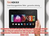 Fire HDX 8.9 226 cm (89 Zoll) HDX-Display WLAN und 4G LTE 64 GB