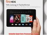 Fire HD 6 152 cm (6 Zoll) HD-Display WLAN 16 GB (Schwarz)