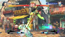 Super Street Fighter IV scheisse gespielt aber witziges Ende!
