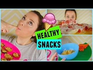 Healthy Snacks Ideas  ♡ Spring Edition