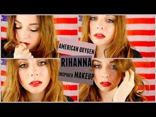 Rihanna - American Oxygen | Inspired Make-up