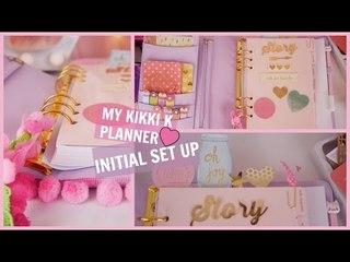 My KIKKI K Planner  ♥ Initial Set Up