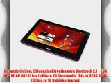 Acer Iconia A200 257 cm (101 Zoll) Tablet-PC (NVIDIA Tegra2 Dual-Core 1GHz 1GB RAM 16GB Flashspeicher