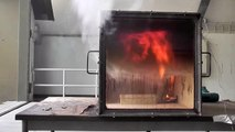 Rollover, Flashover and Backdraft in fire simulator