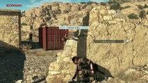 Metal Gear Solid 5 The Phantom Pain - Bionic Arm & Reflex Mode Gameplay Trailer