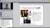 « Logiciels métiers et site web permettant l'accompagnement de la croissance de l'artisan » (Web Conférence animée par Lomaco ).