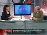 Federico Prieto Celi - Caso PUCP - entrevista en TV Perú 23/092011