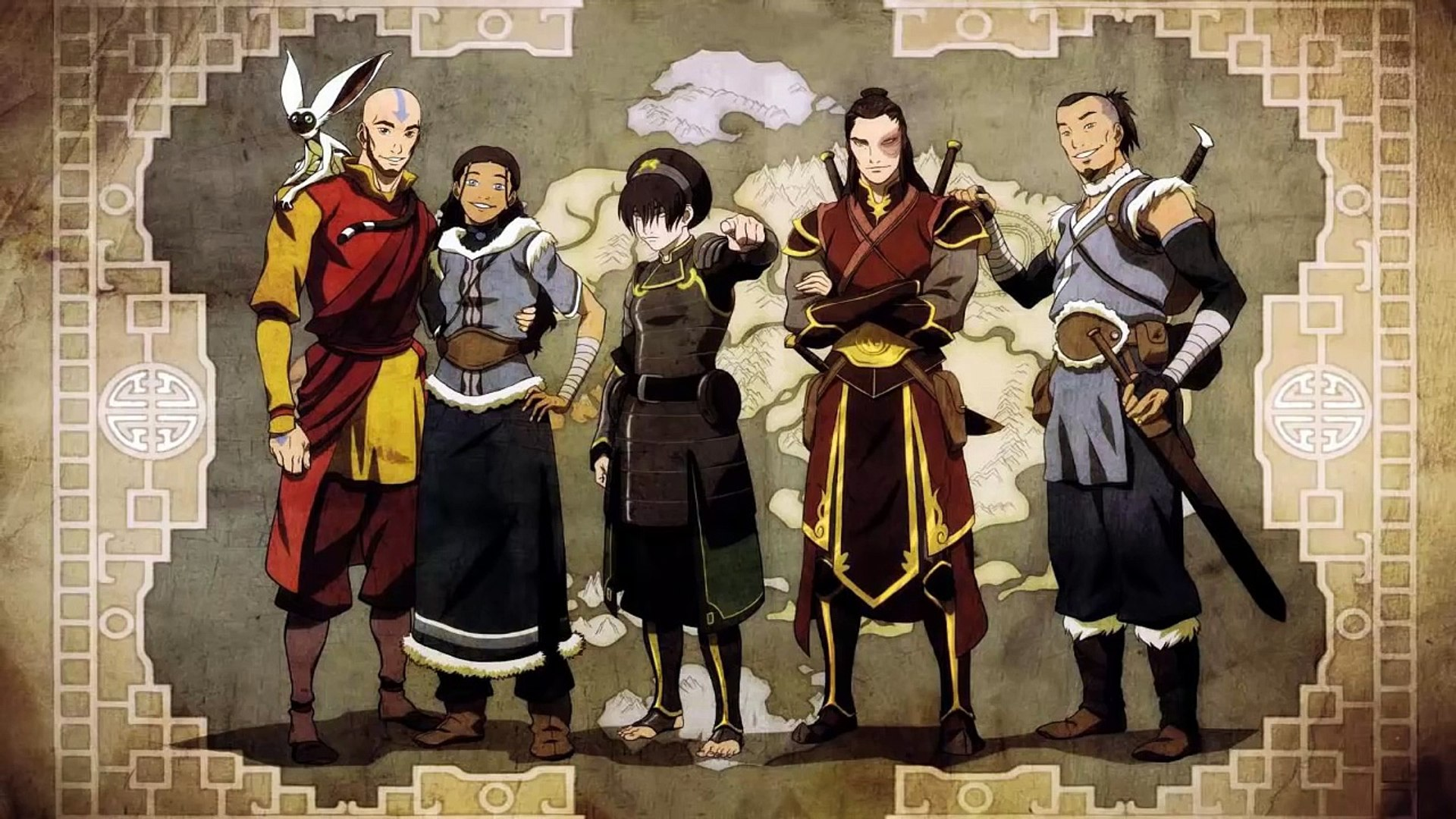 Avatar Aang Rises from Death - Legend of Korra - video dailymotion
