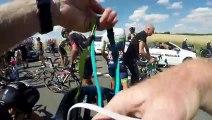 GoPro  Tour de France Stage 3 Crash Aftermath