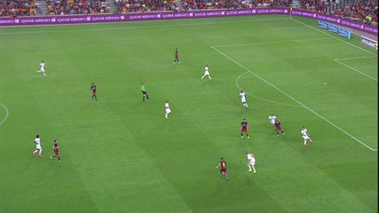 Barcelona Goal - Messi Gamper 2015