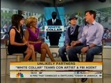 White Collar's Matt Bomer and Tim Dekay on the Today Show Interview 8/24/10