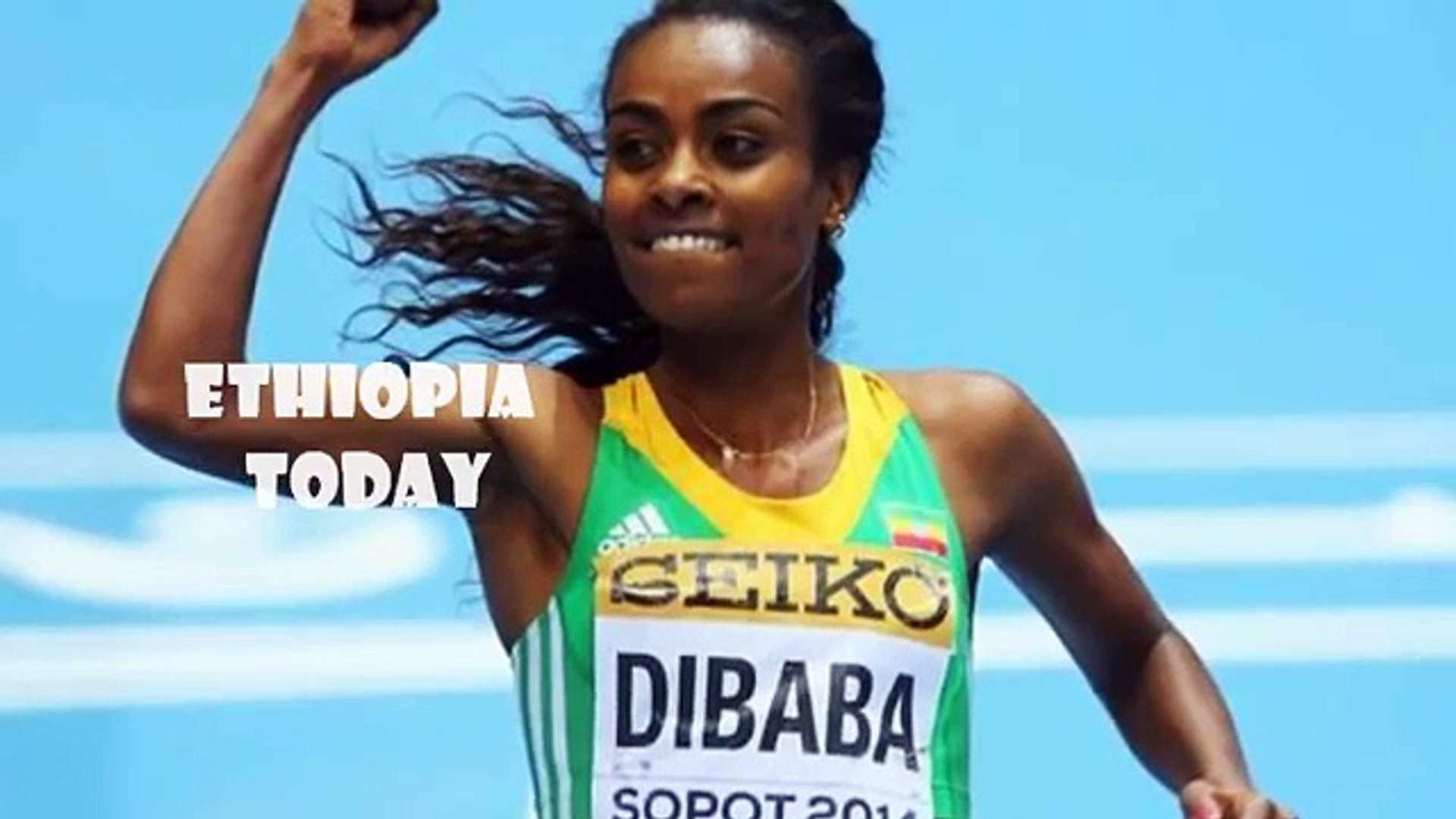 Ethiopia Today: Ethiopian Athlete Genzebe Dibaba with best Amaharic instrumental music