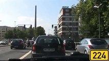 """Driving in the """"Ruhrgebiet"""" : Essen - Oberhausen - Duisburg [HD720p]"""