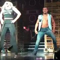 Britney Spears - Me Against The Music (Break) Piece Of Me (08/08/2015)