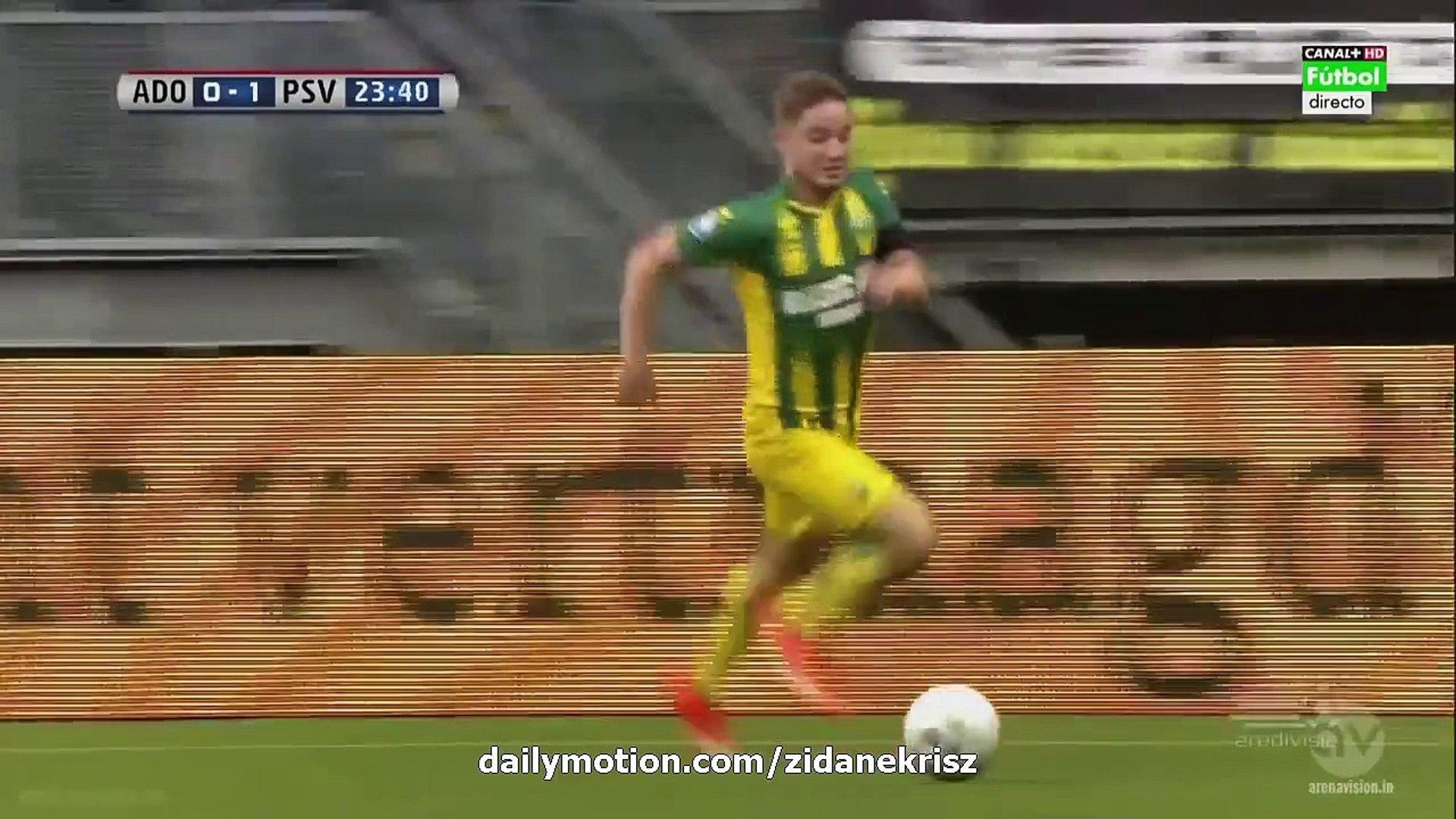 1-1 Roland Alberg Penalty-Kick HD | Ado Den Haag v. PSV Eindhoven - Eredivisie 11.08.2015 HD