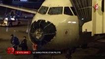 Un avion frappé par l'orage et la grêle ! - Zapping télé du 11 août 2015