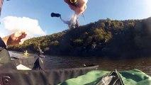 Pêche au leurre No-Kill 2014 (Une belle Surprise de 1.66m !) -- GoPro Hero 3 --