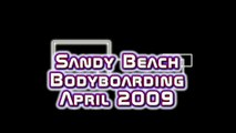 Sandy Beach long wave ride Bodyboarding HD