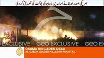 Osama bin Laden, el líder de al-Qaeda, ha muerto.