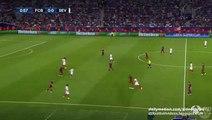 Sevilla Big chance | Barcelona v. Sevilla - UEFA Super Cup - 11.08.2015 HD