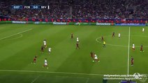 Sevilla Big chance _ Barcelona v. Sevilla - UEFA Super Cup - 11.08.2015 HD