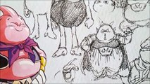 Akira Toriyama Dragonball Sketches Unreleased Rough Sketches