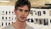 Model Interview Mathias Lauridsen Hugo Boss Fashion Week 2012