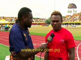 Rugby 9s | PNG Vs Tonga - Wartovo Puara Interview | XV Pacific Games Day #9