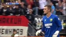 Goalkeeper Martin Hansen scored a stunning 95th minute equaliser for ADO Den Haag vs PSV