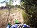 Dual Sport KLX 300 Trail riding GoPro HD Hero