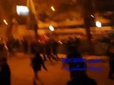 Egyptian Police & Muslim youth beating Christians after bombing Coptic Church-Alexandria 1-1-2011