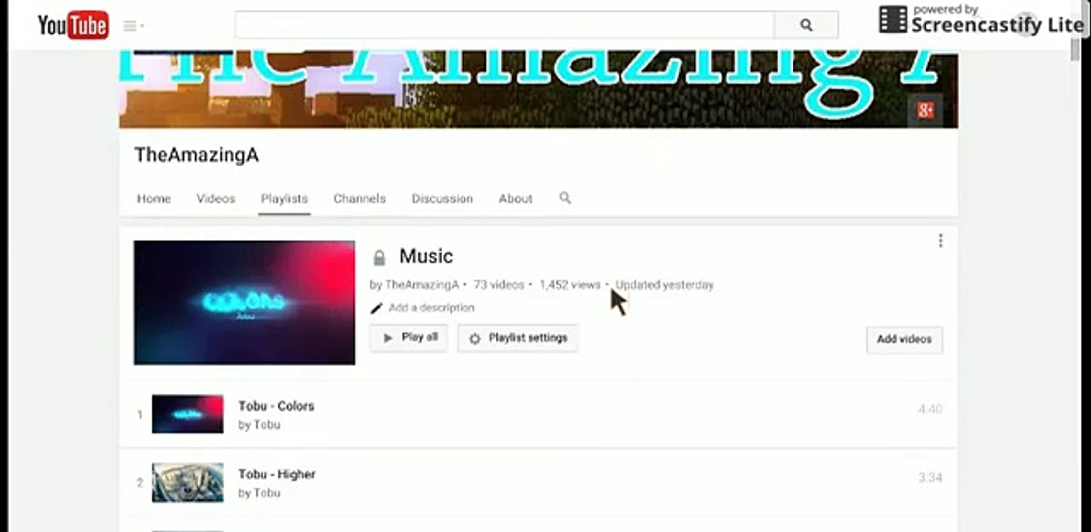 Music Playlist, Use In Your Videos! ( Not My Music And Give Credit )
