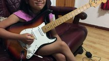 10 Year old Krizten Centino guitar cover of Eruption by Van Halen