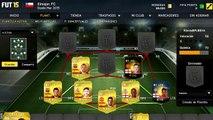 FIFA 15 | Squad Builder | Hibrida Barclays - BBVA | 350K | Elmojon