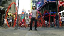 MAKE IT BUN DEM | DUBSTEP | KJ @ Times Square Manhattan New York NYC