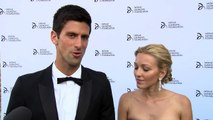Novak Djokovic talks about the Novak Djokovic Foundation Gala