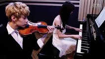 Henry헨리 with ( SeoHyun SNSD) Playing  TRAP  Violin  Piano