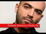 """Saviano a Radio 24: """"Pdl irresponsabile, ritorno Berlusconi fondato su possibile compravendita voti"""""""