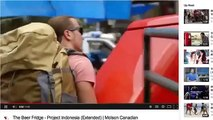 Stupidest Commercial of ALL TIME! Molson Canadian Beer Fridge Indonesia 360p
