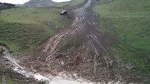Pajero Crash - Off Road Georgia