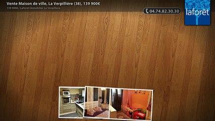 Vente Maison de ville, La Verpillière (38), 139 900€