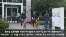 G is for Google: Why have the tech giant restructured under Alphabet?
