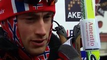 Petter Northug Interview: - It Is Only On Birthdays I Push (Tour de Ski 2011 Stage 6, 35 Km Relay)