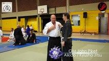 Aiki Jujitsu / Kyusho Jitsu Lesson by GM John Piket Art of Combat Part 3 2014