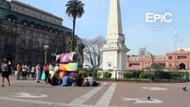 Plaza de Mayo / May Square - Buenos Aires, Argentina (HD)