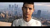 Christiano Ronaldo se balade dans GTAV !! Grand theft Auto 2015