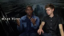 Maze Runner exclusive Interview with Aml Ameen & Thomas Brodie-Sangster